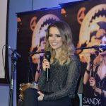 Sandy durante entrevista coletiva na sede do Facebook, em São Paulo (Foto: Francisco Cepeda/AgNews)