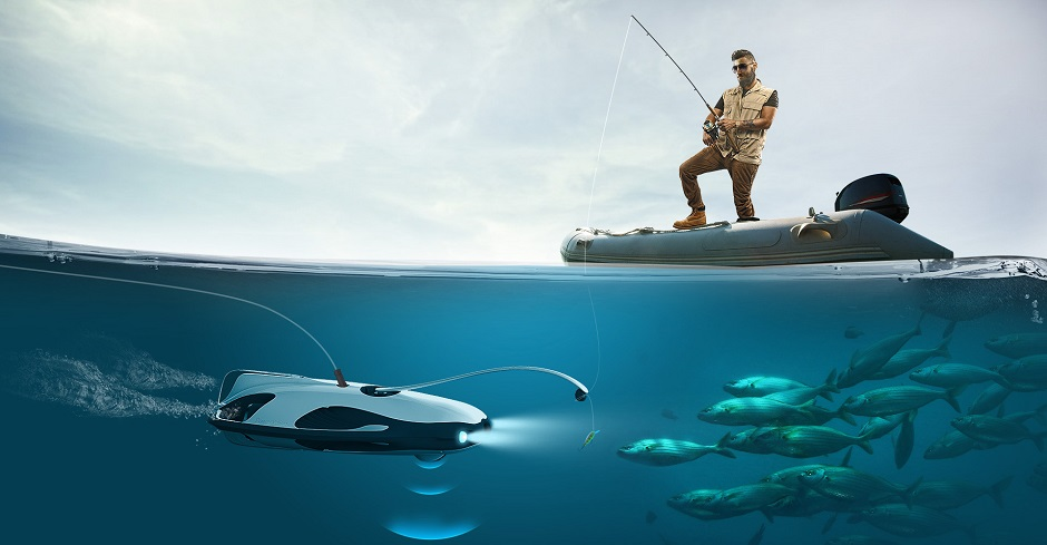 Conheça o PowerRay, primeiro drone aquático