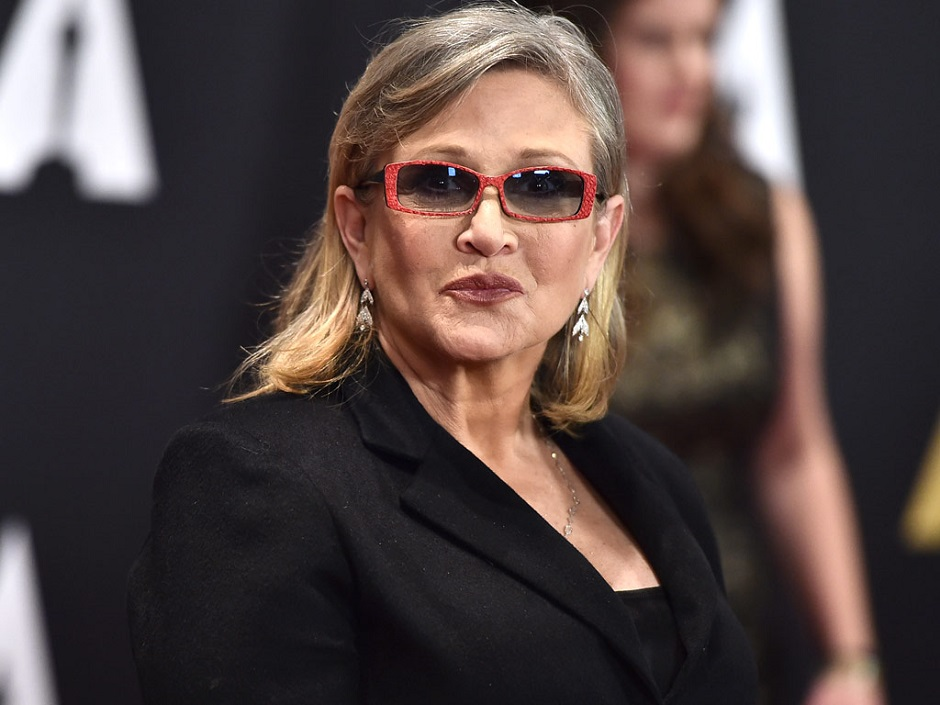 Carrie Fisher sofre ataque cardíaco em avião
