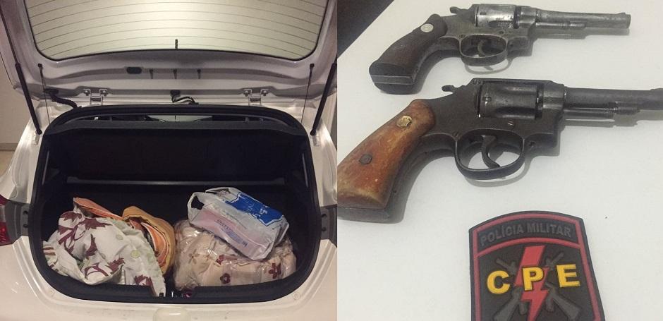 Família é feita refém em tentativa de roubo com troca de tiros