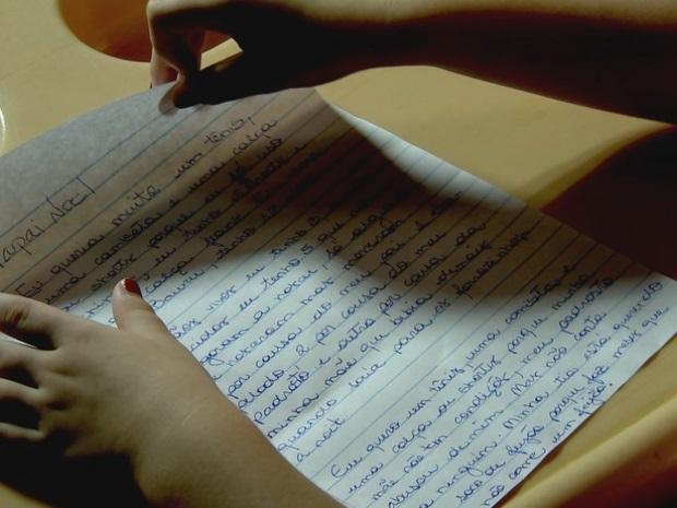 Menina de 13 anos relata abuso pelo padrasto em carta a Papai Noel