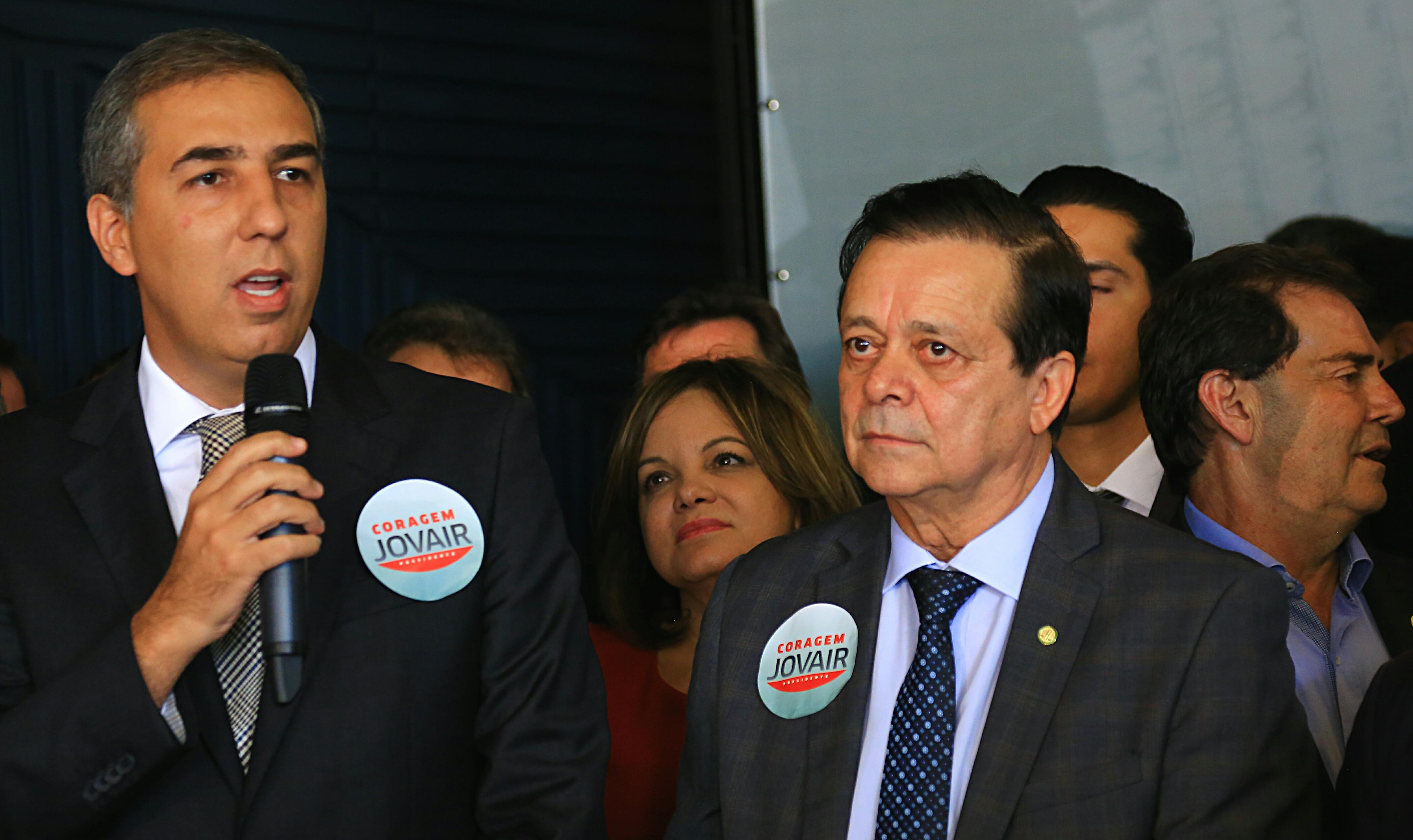 José Eliton pede a bancada goiana que apoie Jovair à presidência da Câmara