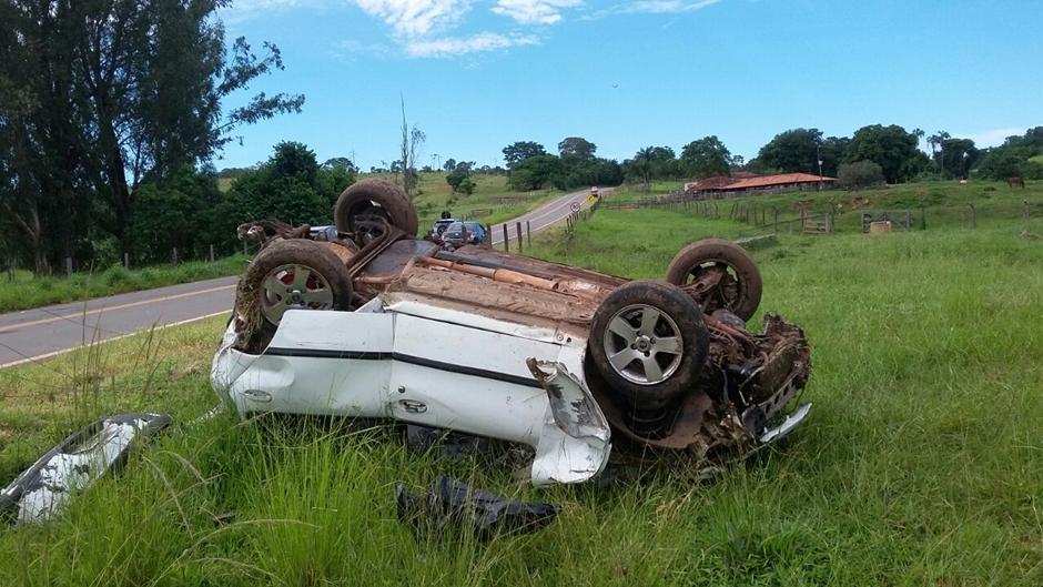Adolescente de 17 anos morre em acidente na BR-414, em Corumbá de Goiás