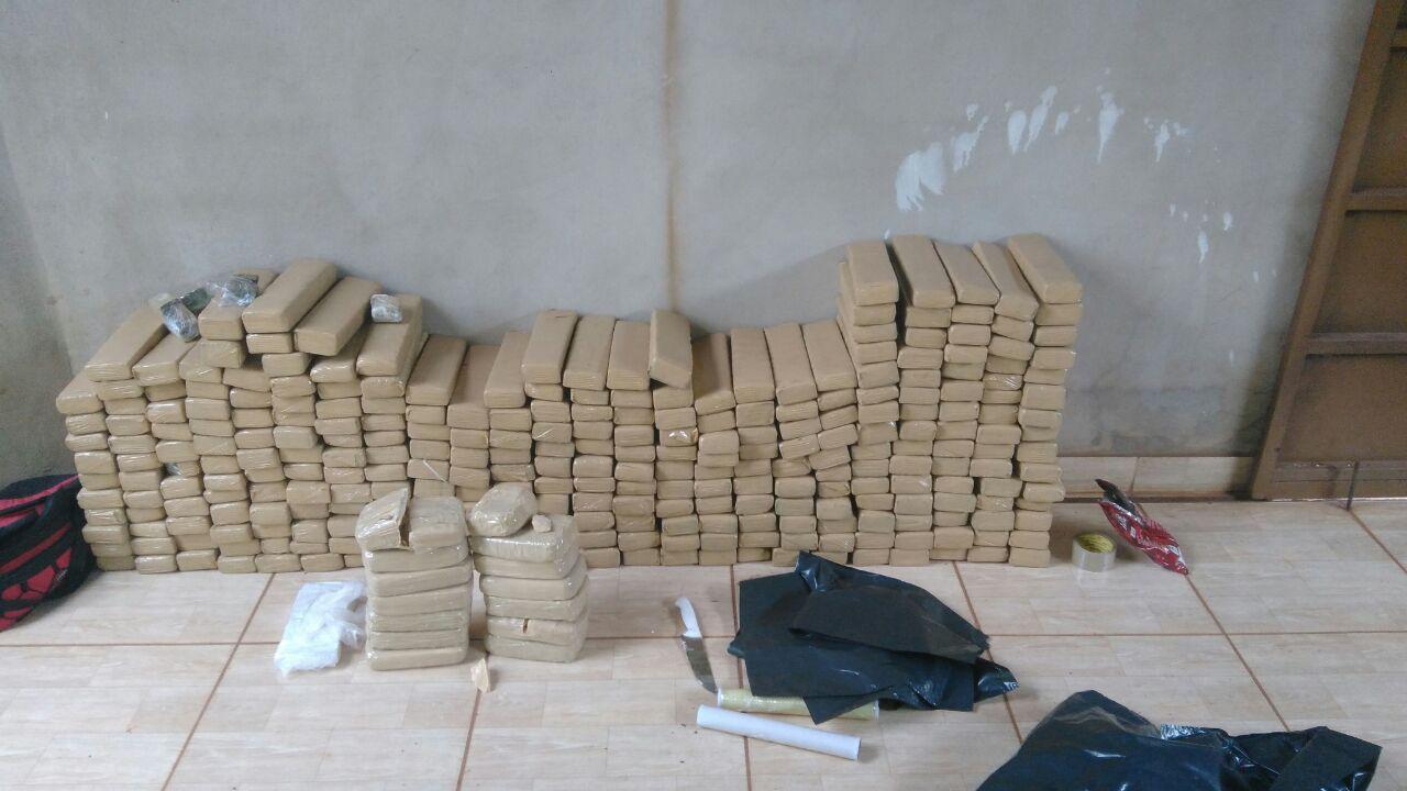 Suspeito de estupro é preso com 260 quilos de drogas em Goiânia