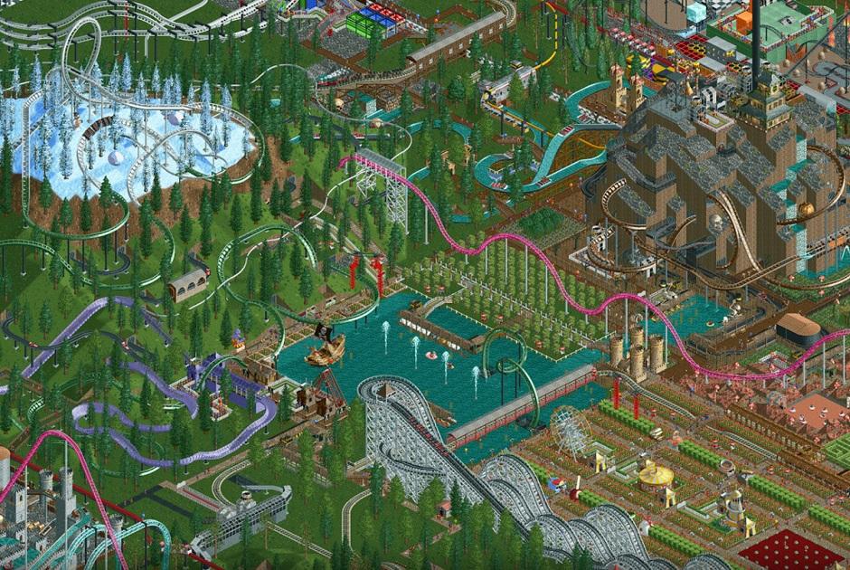 Clássico Roller Coaster Tycoon é lançado para dispositivos móveis