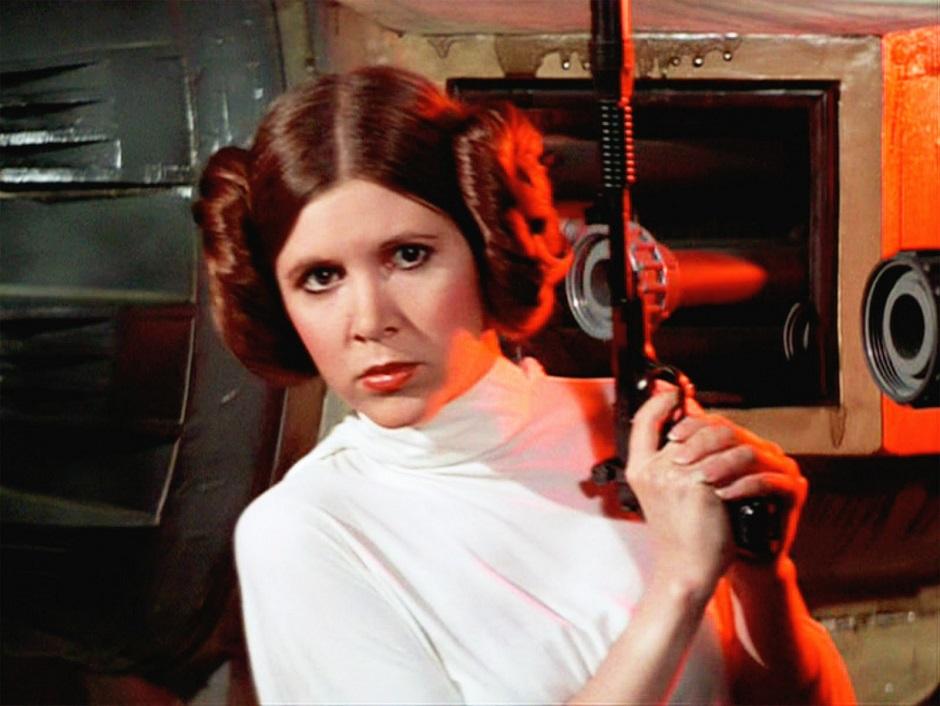 Fãs criam petição para que personagem de Carrie Fischer seja princesa da Disney
