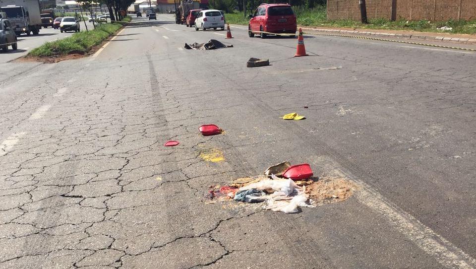 Homem de 54 anos morre atropelado na Av. Perimetral Norte, em Goiânia