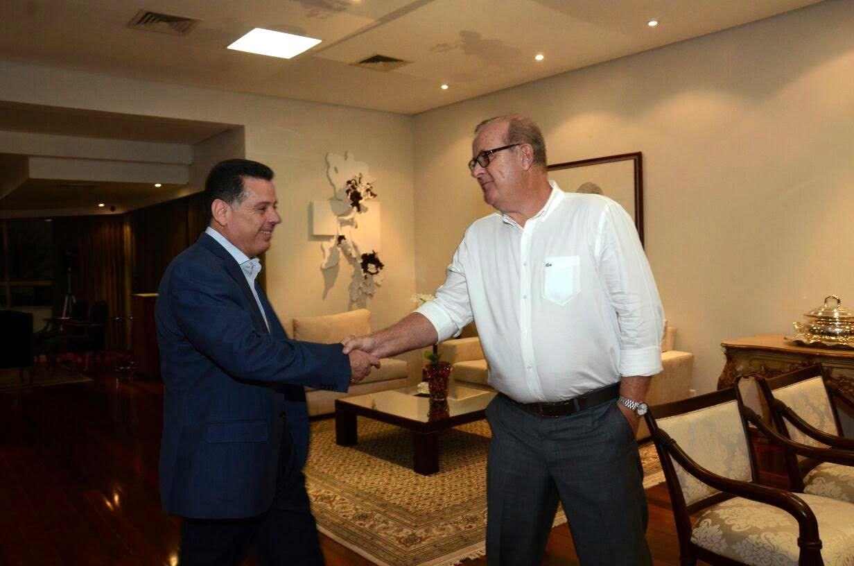Paulo Garcia diz que Marconi tem sido um bom companheiro de Goiânia