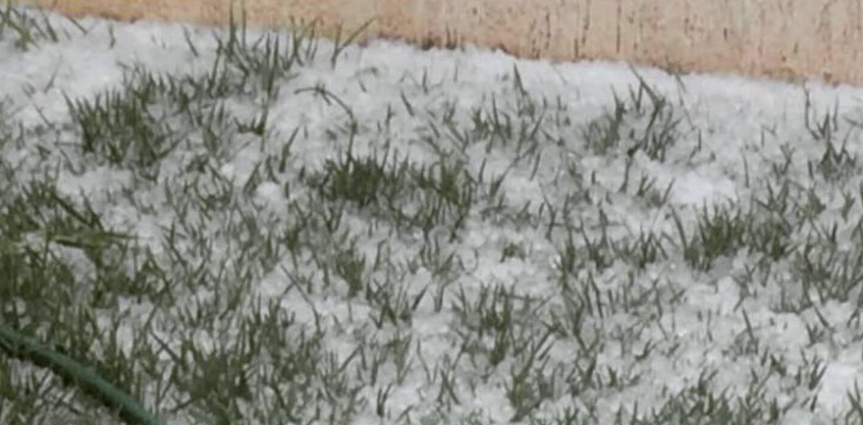 Chuva de granizo surpreende moradores de Goiânia e de Anápolis