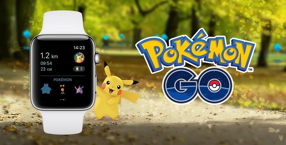 Pokémon Go é lançado para o Apple Watch