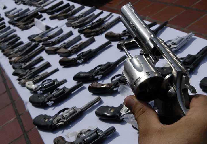Armas apreendidas poderão ser doadas a órgãos de segurança pública