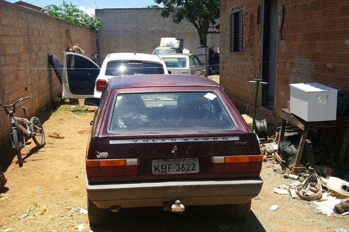 Bope estoura ponto de desmanche de veículos em Aparecida de Goiânia
