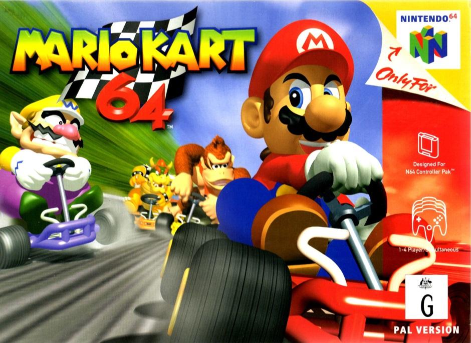 Mario Kart 64 é novo título do Virtual Console