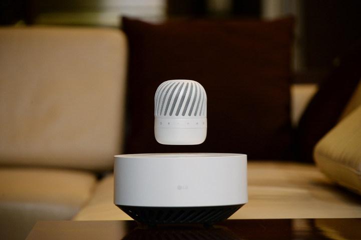 LG vai lançar caixa de som que flutua