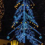 Árvore de Natal da Polo Imóveis. (Foto: Vinícius Schmidt)