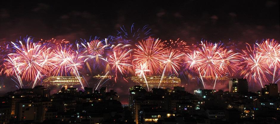 Ano-Novo em Copacabana cumpre expectativa de 2 milhões de pessoas, diz Riotur