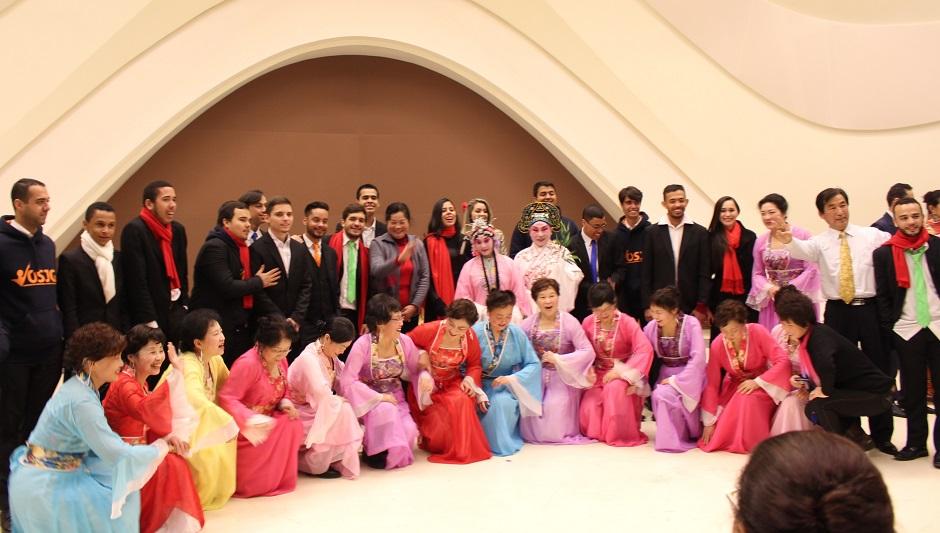 Orquestra Sinfônica Jovem de Goiás faz concerto oficial de Ano Novo na China