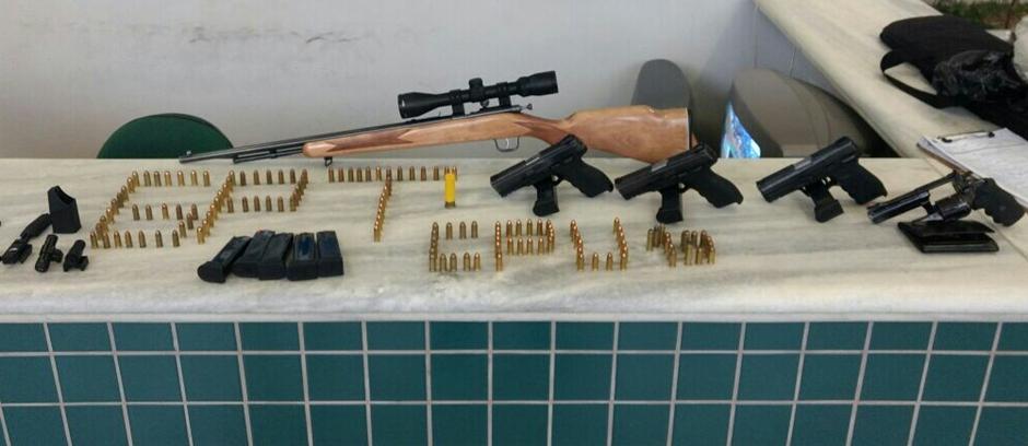 PM apreende armas que eram alugadas para cometer crimes em Luziânia