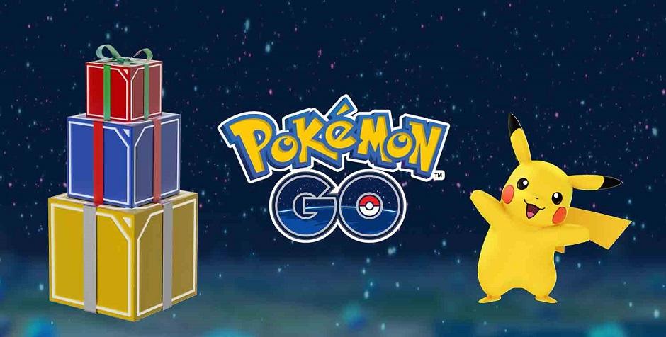 Evento de final de ano de Pokémon Go já está no ar