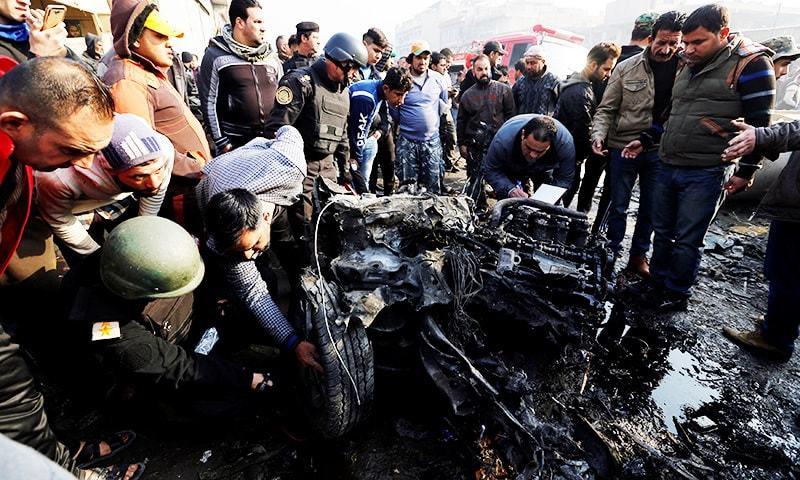 Atentados suicidas contra mercados em Bagdá deixam ao menos 18 mortos