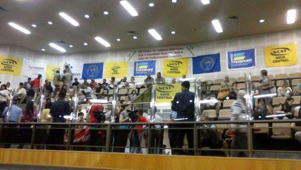 Câmara mantém veto de Paulo Garcia ao pagamento da data-base retroativa