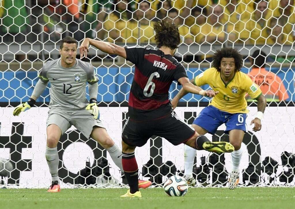 Brasil leva 7 da Alemanha e sofre a sua pior derrota
