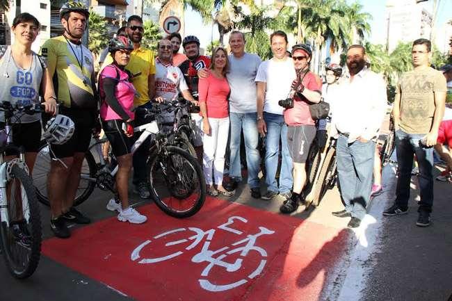 Prefeitura de Goiânia lança primeira ciclofaixa de lazer exclusiva entre parques