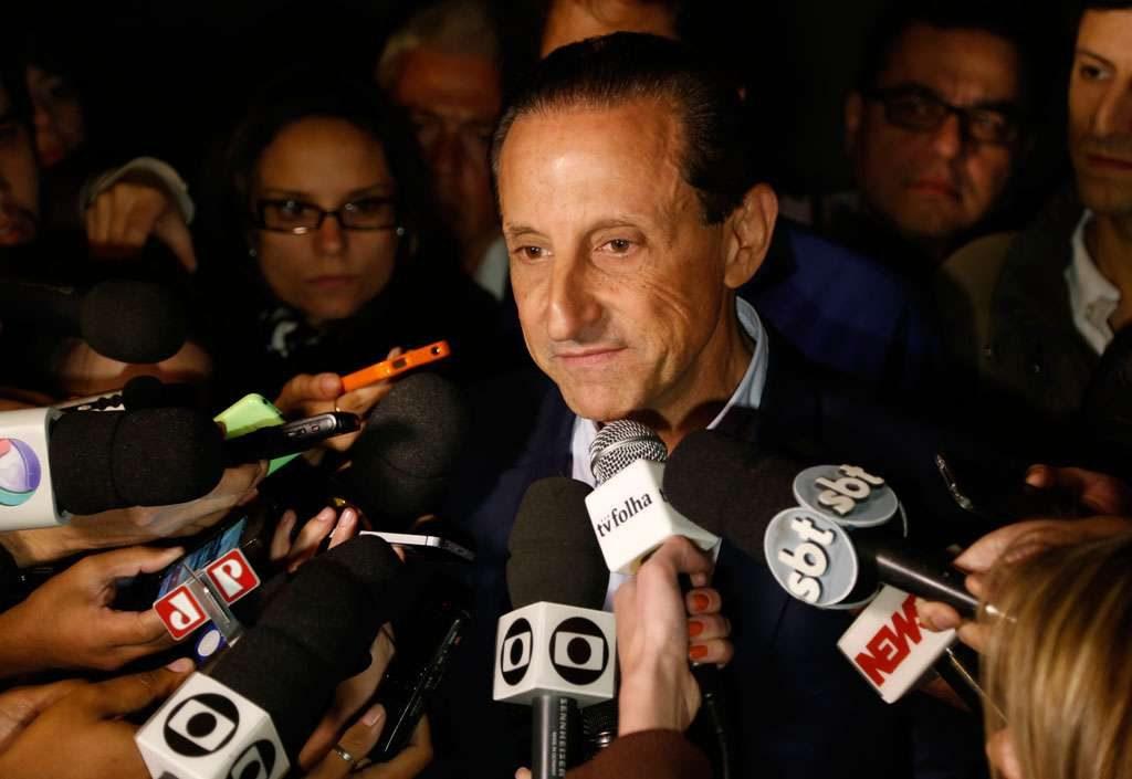Em SP, Skaf agradece votação e deseja sucesso a eleito