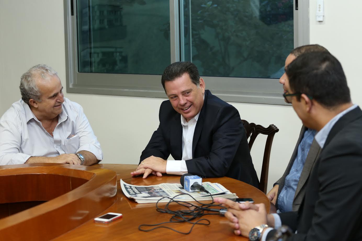 """""""Faremos parceria com o próximo prefeito para melhorar o trânsito de Goiânia"""", afirma Marconi"""