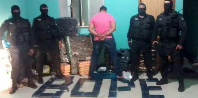 Homem é preso com aproximadamente 1 tonelada de maconha, em Anápolis