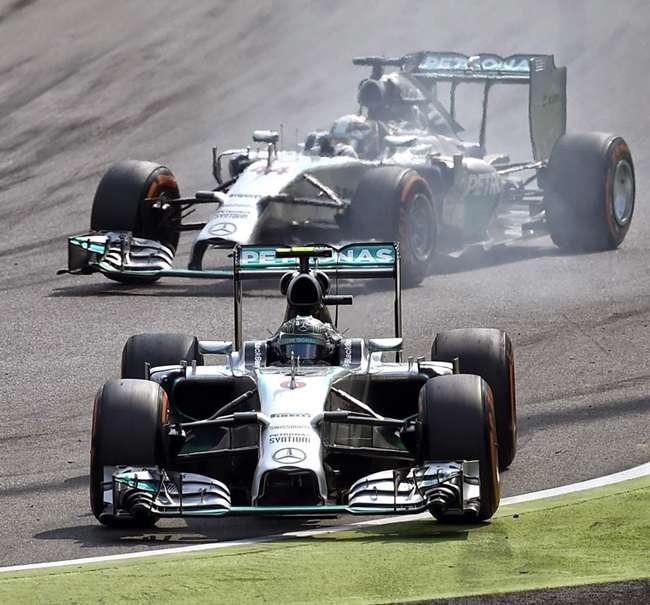 Rosberg erra e Hamilton vence GP da Itália; Massa é 3º