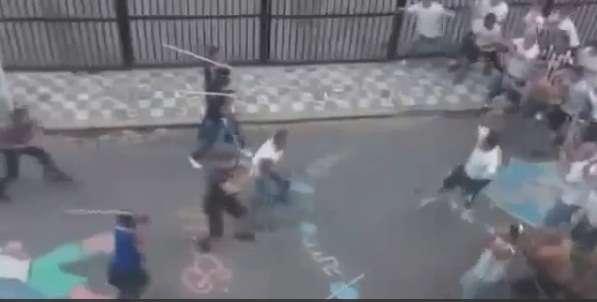 MP vai analisar vídeo da briga de torcedores em Santos