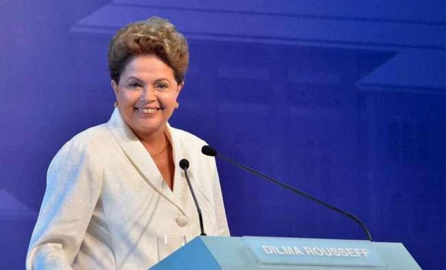 Dilma Rousseff é mais associada a bancos que rivais