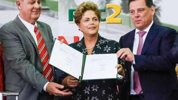 Dilma promete concluir o Aeroporto de Goiânia em novembro