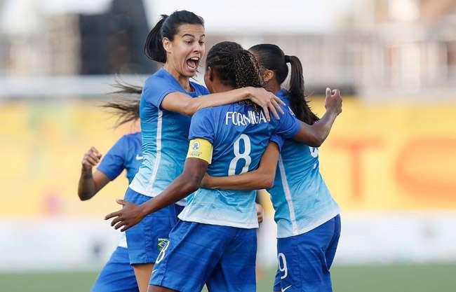 Seleção feminina goleia Colômbia e conquista tri em Jogos Pan-Americanos