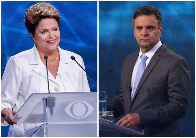 Aécio critica ataques; Dilma diz que Aécio distorce fatos