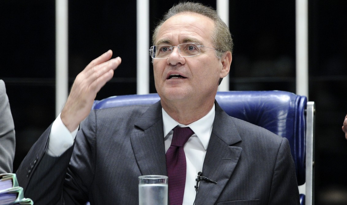 Renan divulga nota contra suspensão de votação de pacote anticorrupção