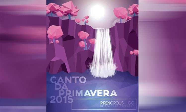 Canto da Primavera começa nesta quarta-feira em Pirenópolis