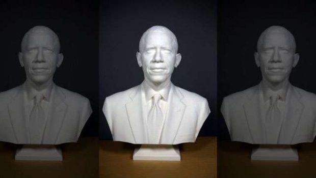 Barack Obama é o primeiro presidente 'impresso' em 3D