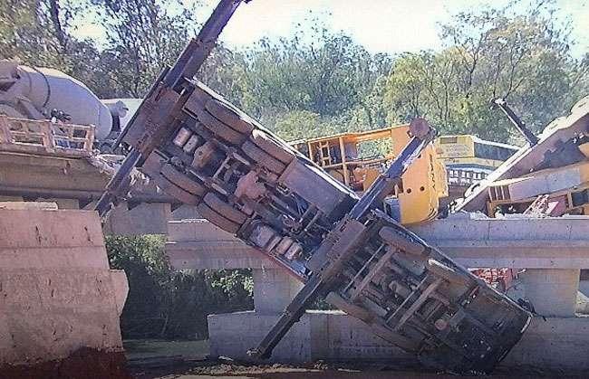 Operário morre e outro ficou ferido após queda de guindaste em obra na GO-020