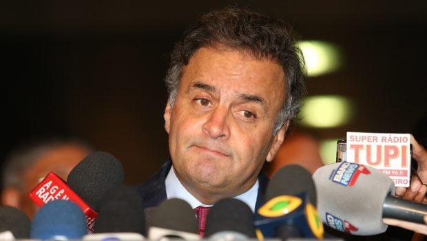Supremo julga pedido de prisão preventiva contra o senador Aécio Neves