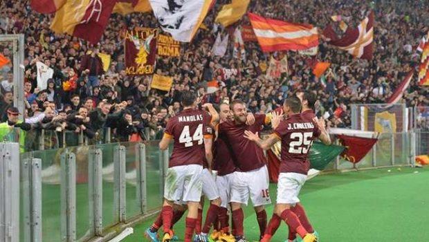 Roma vence a Inter e mantém perseguição à Juventus
