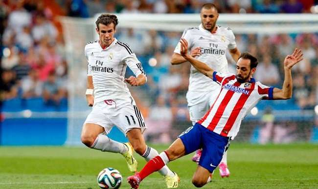 Atlético marca no fim e empata com Real na Supercopa