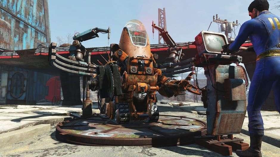Muita luta de robô em Automatron
