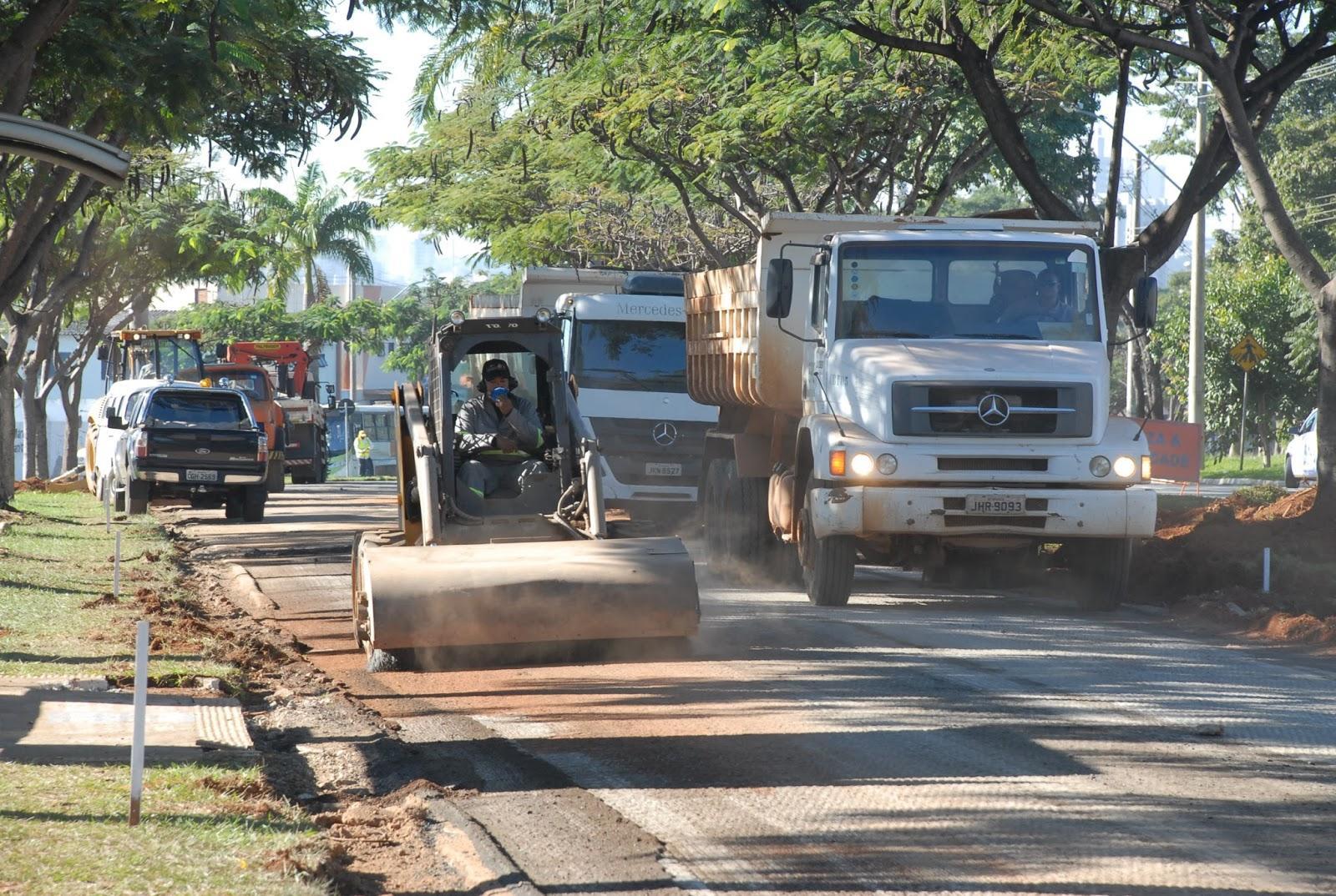 Trânsito no centro de Goiânia será desviado para obras; transporte coletivo será afetado