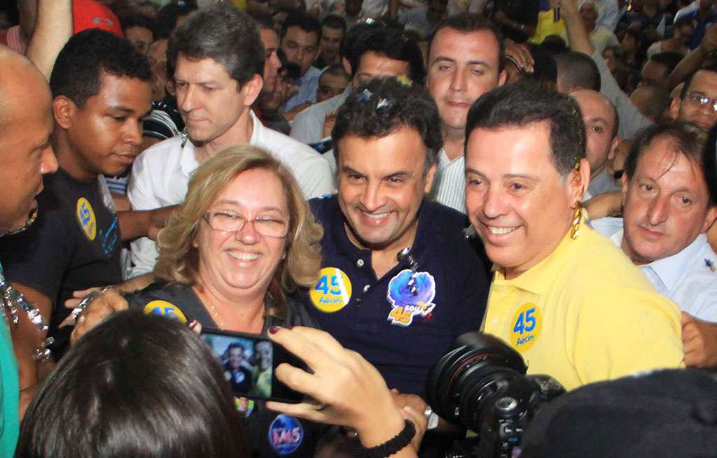 Aécio cita Marconi como nome forte do PSDB para 2018