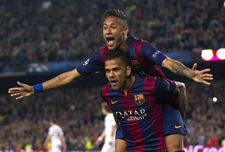 Com dois gols de Neymar, Barcelona vence o PSG e está nas semifinais da Liga dos Campeões