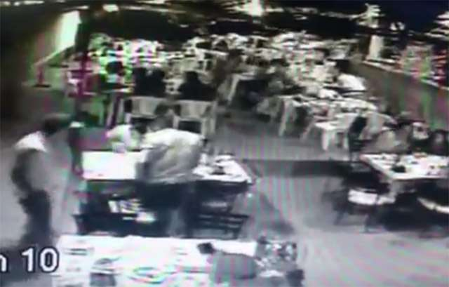 Com submetralhadora, grupo faz arrastão em bar de Aparecida de Goiânia; assista