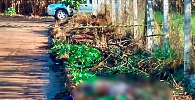 Mulher é encontrada morta às margens de lote baldio, em Rio Verde