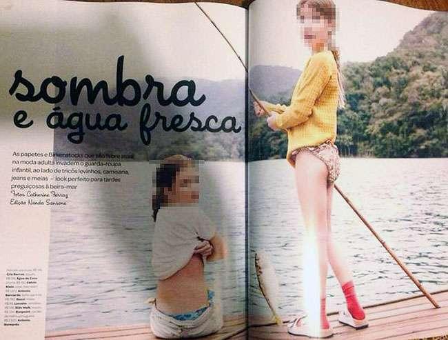 Após denúncia, Vogue nega sexualização de ensaio infantil